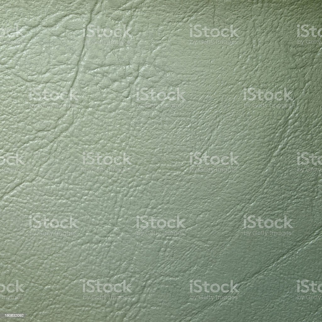 Light Green Leatherette Background royalty-free stock photo