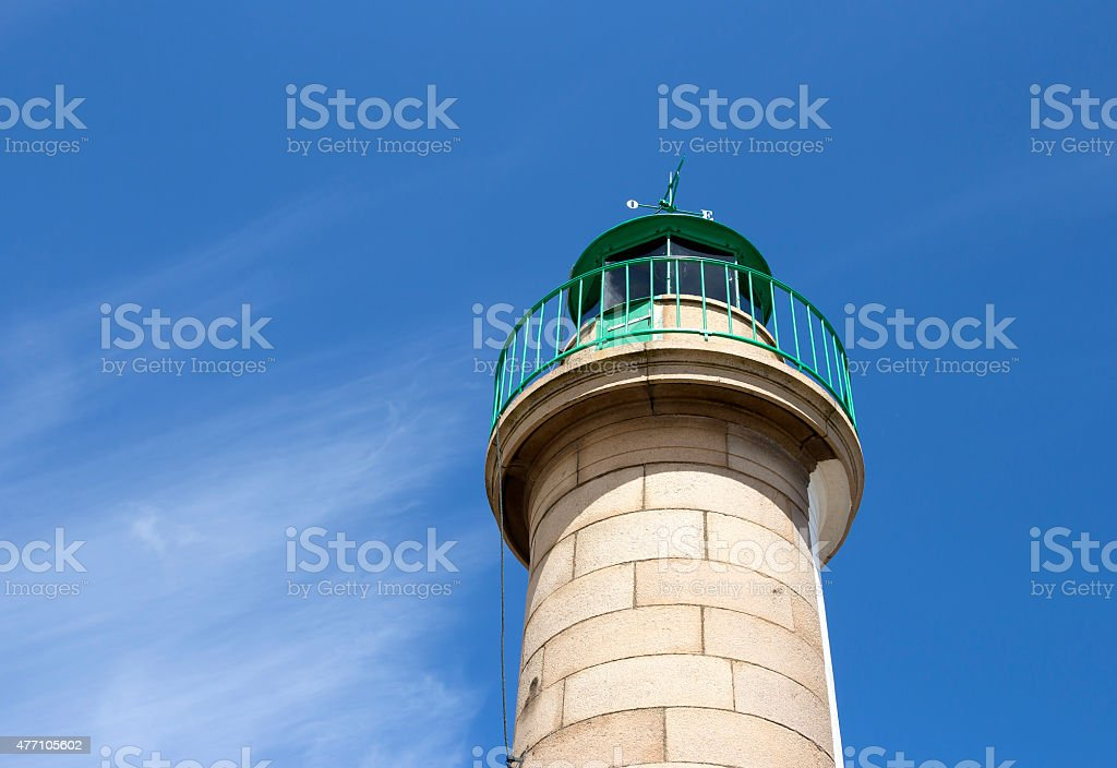 Light house in daylight royalty-free stock photo