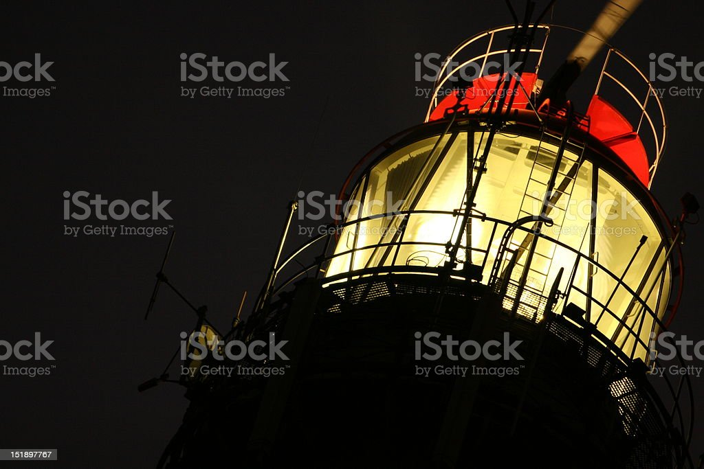 Light house stock photo