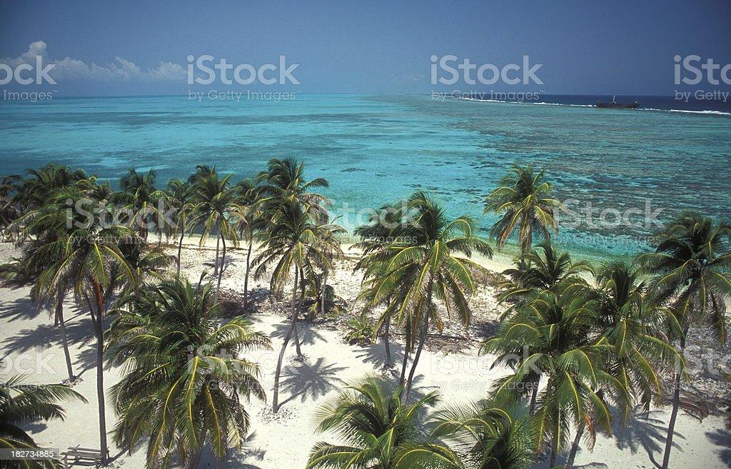 Light House Reef stock photo