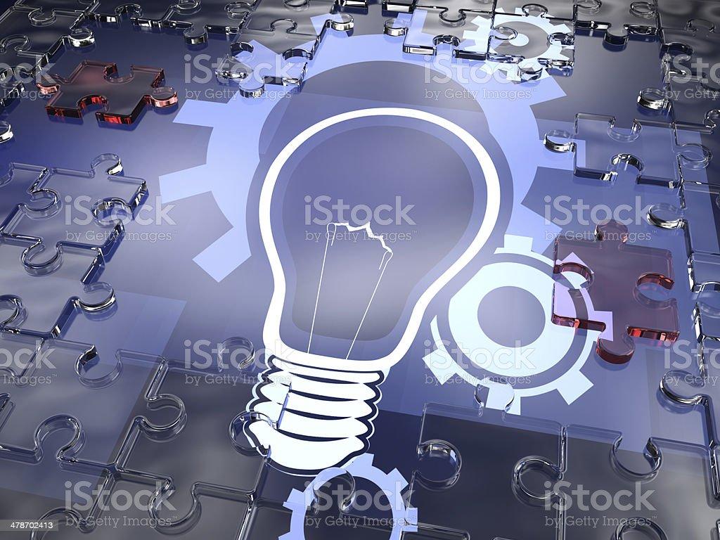 Light Ideas royalty-free stock photo