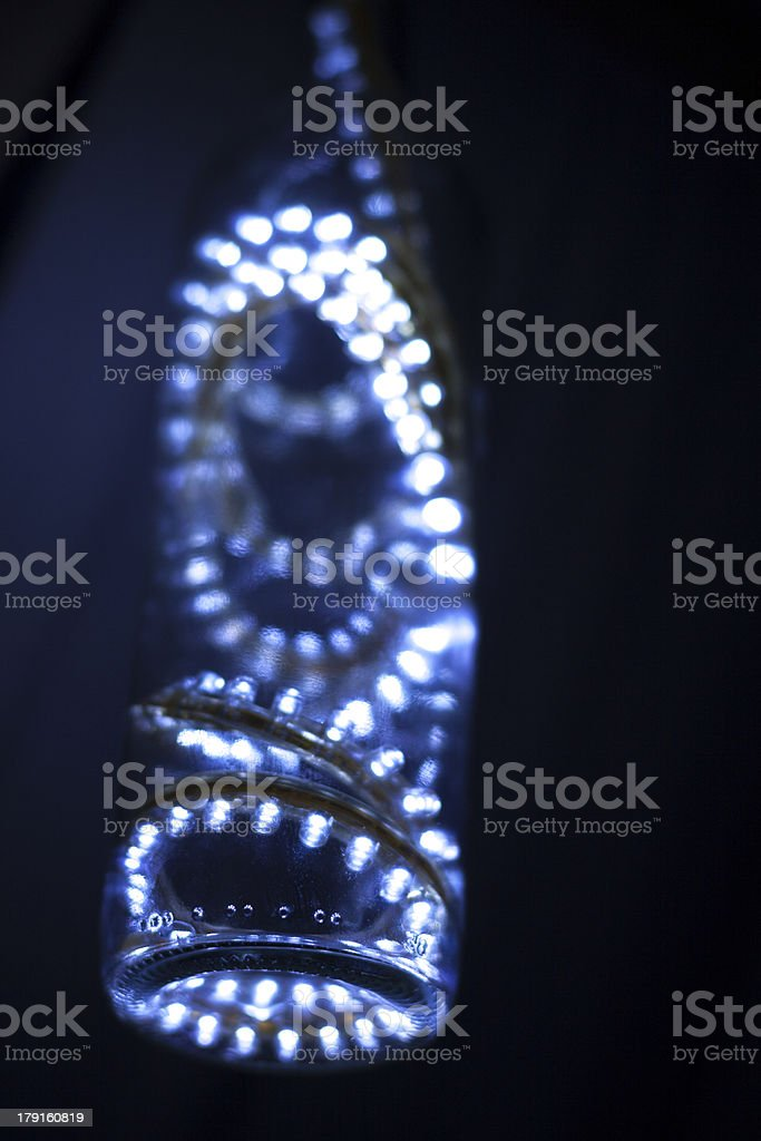 Light in a bottle royalty-free stock photo