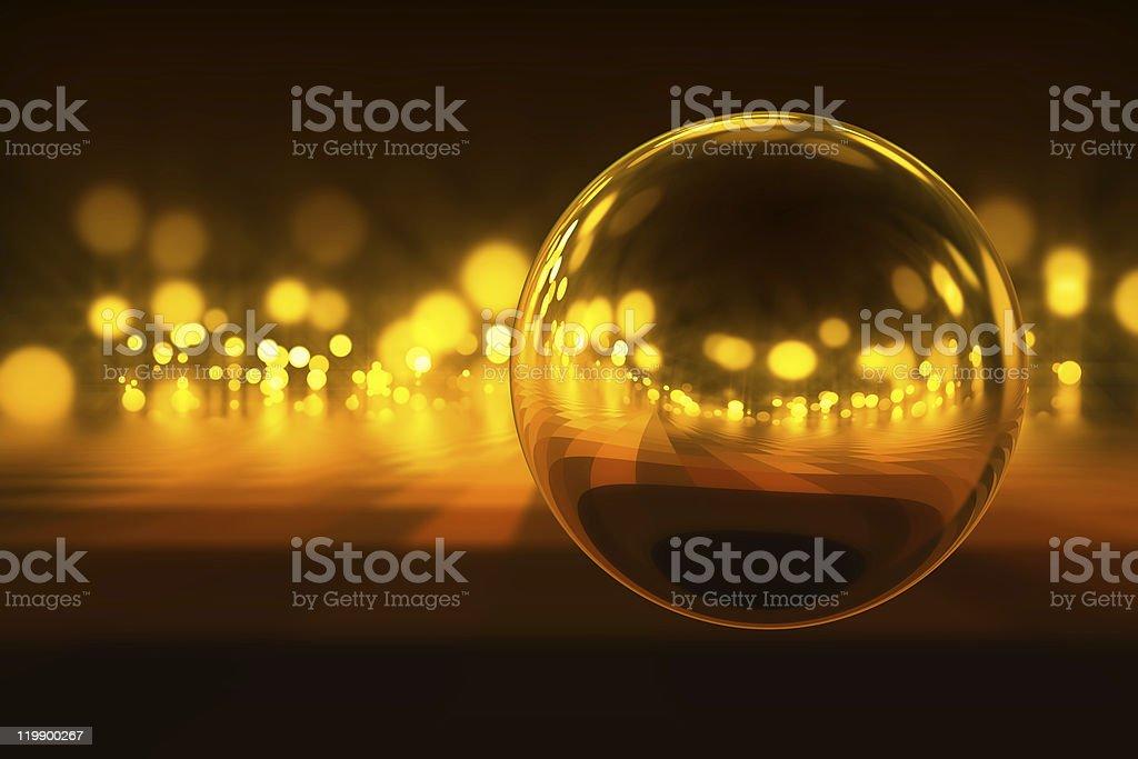 Light in night royalty-free stock photo