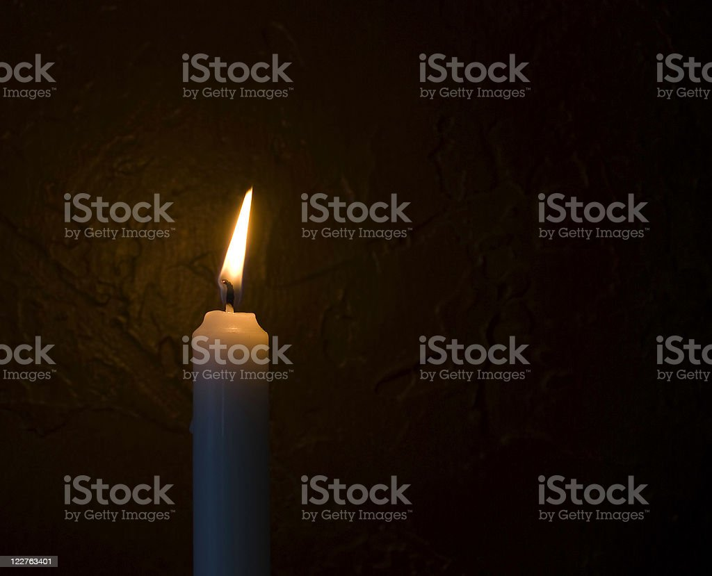 Light in the Darkness stock photo