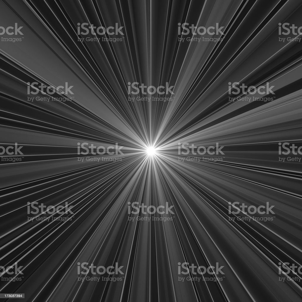 light in tunnel royalty-free stock photo
