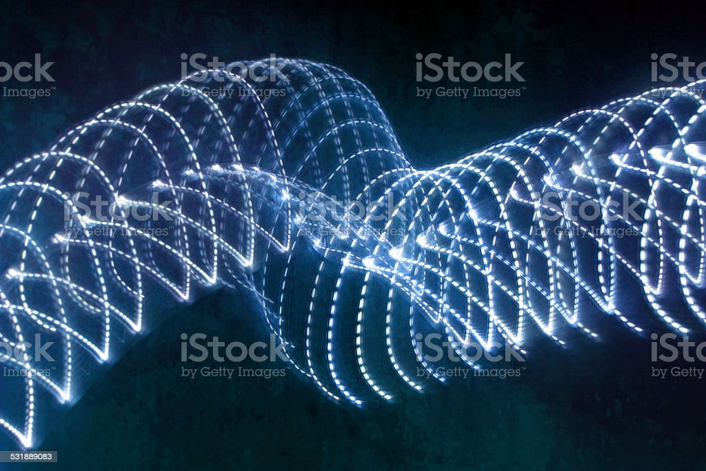LED light - lines stock photo