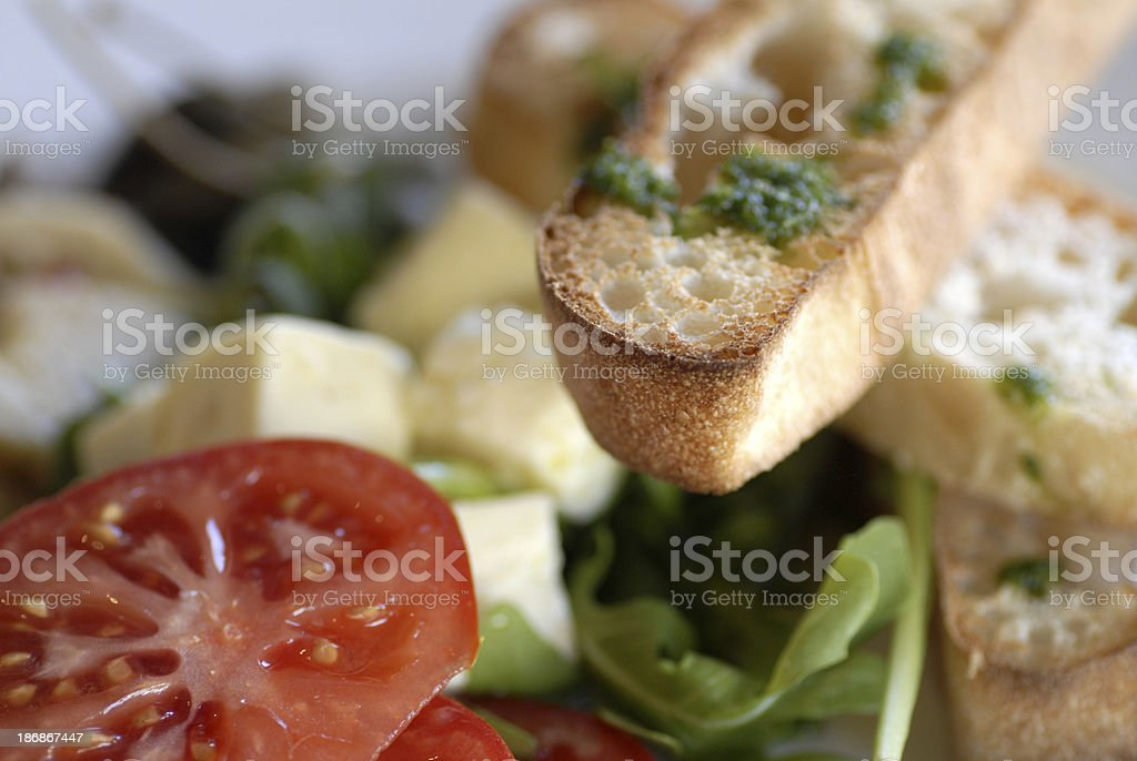 Light lunch up close royalty-free stock photo