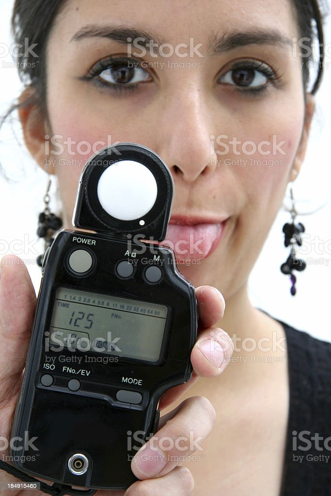 Light Meter royalty-free stock photo