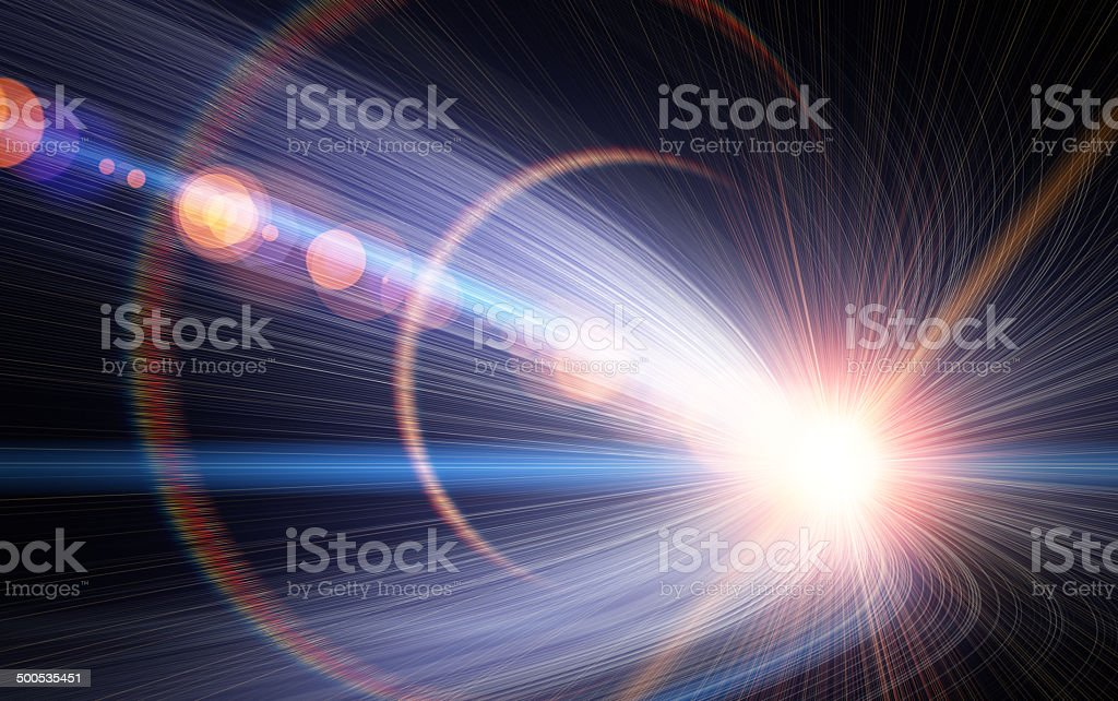 Light Motion stock photo