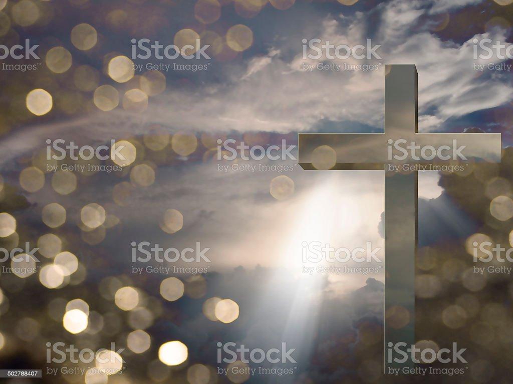 Light of Christ stock photo