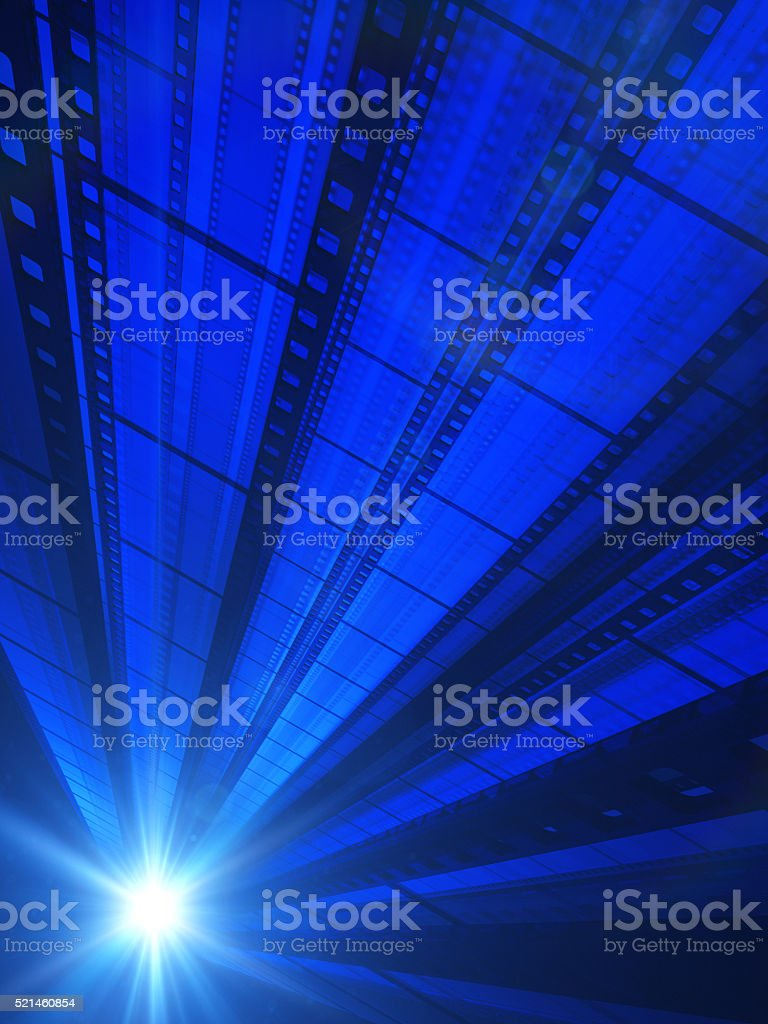 Light Of Cinema stock photo