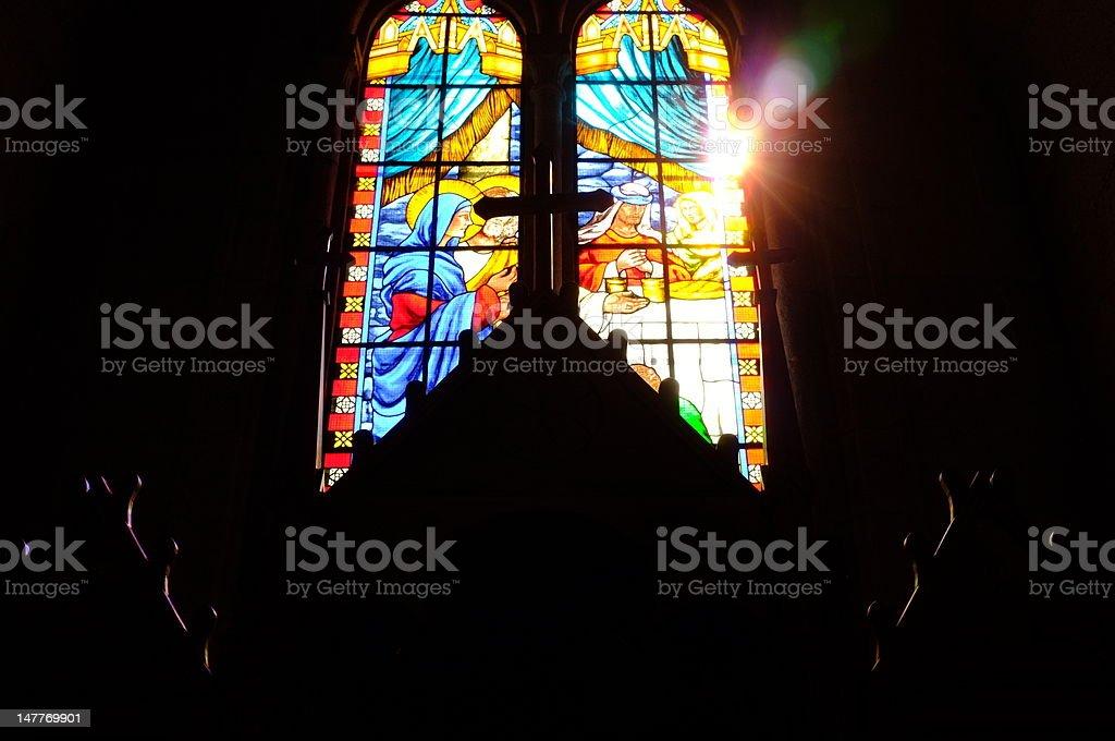 Light of Faith royalty-free stock photo