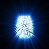 Light Of Fingerprint