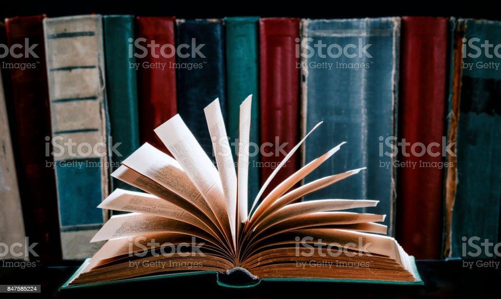Light of knowledge stock photo