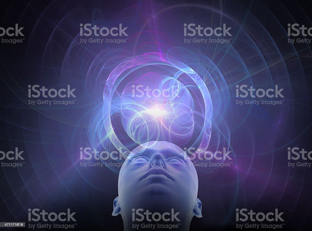 light of reason - concept design ideas and intelligence stock photo