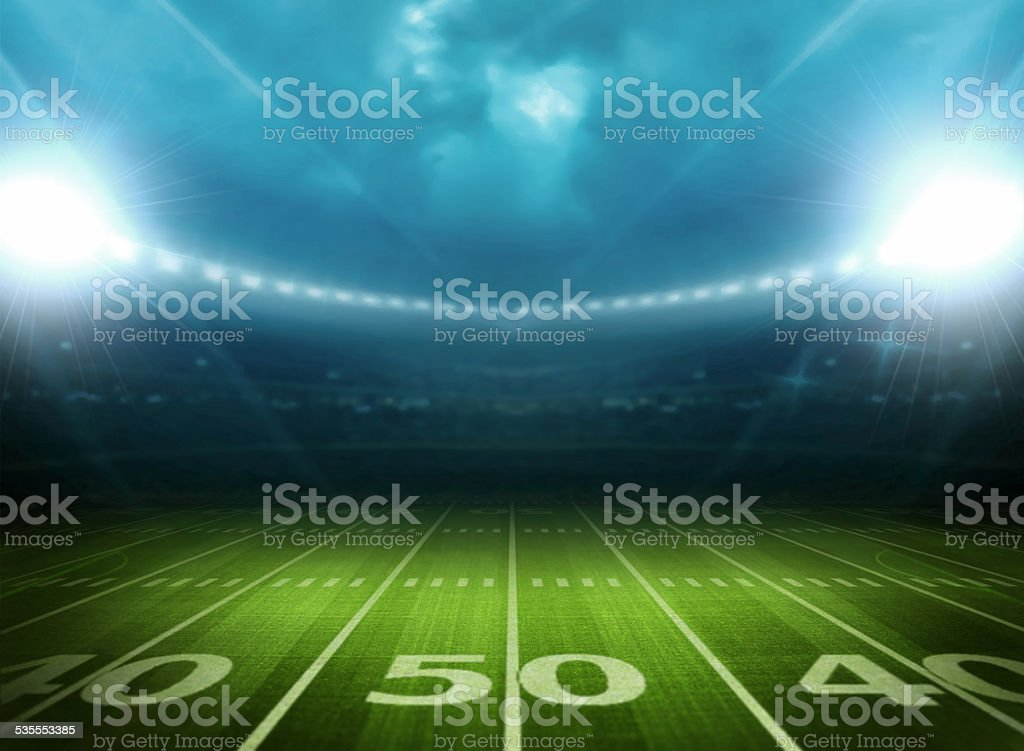 light of stadium stock photo