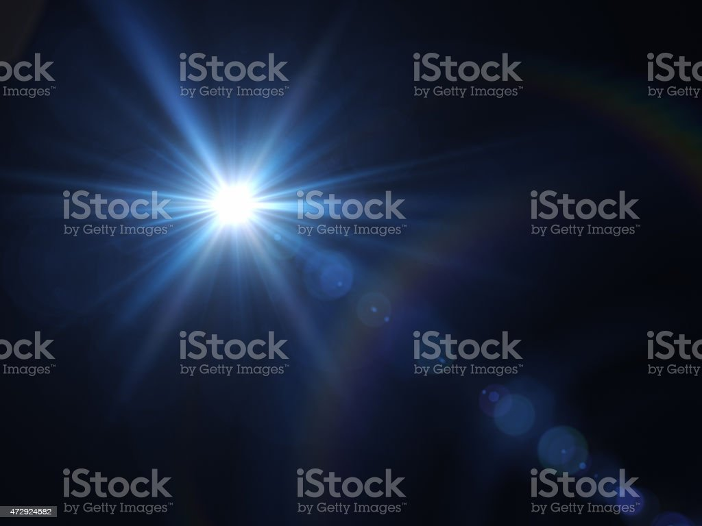 Light of Star stock photo