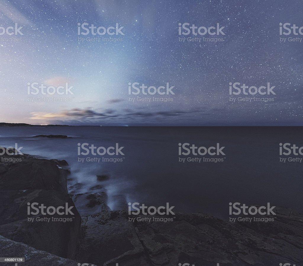 Light of the Zodiac stock photo