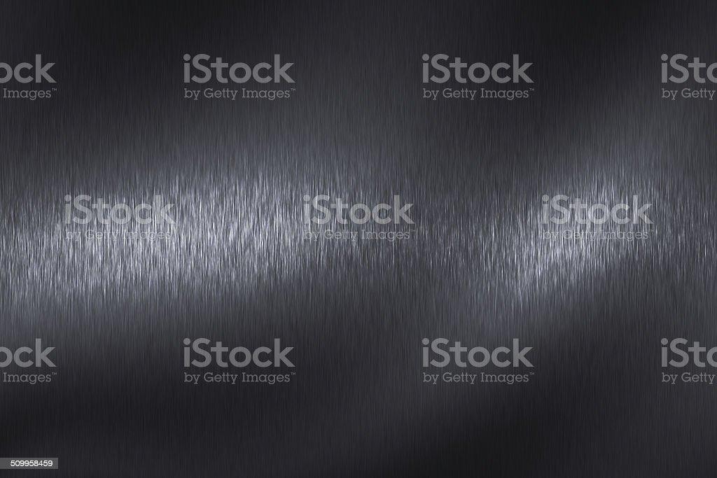 light on black steel texture surface stock photo