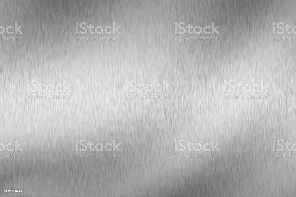 light on silver texture surface stock photo