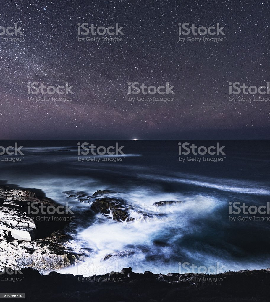 Light on the Horizon stock photo