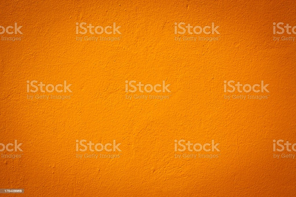 Light orange color wall texture stock photo