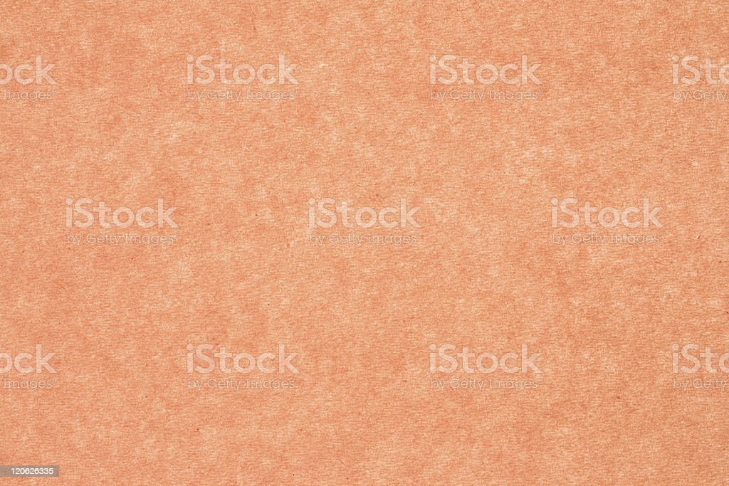 Light Orange Construction Paper Textured Background stock photo