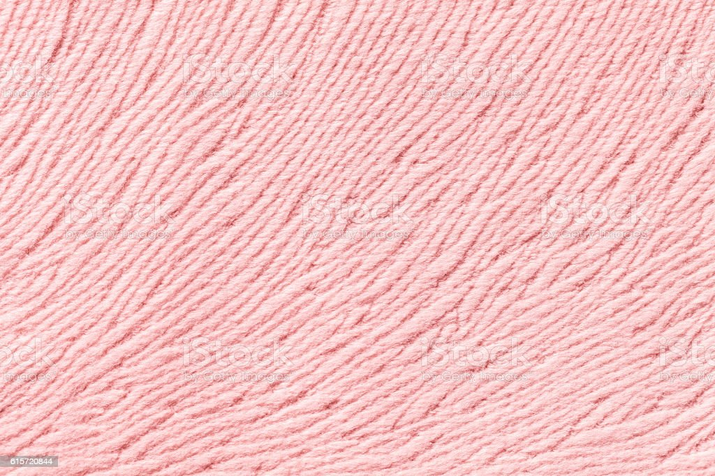 Light pink background from soft textile material. stock photo