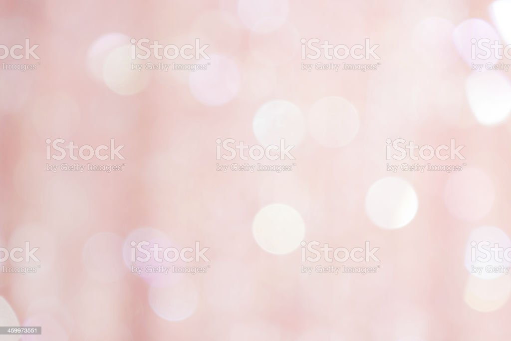 Light pink defocused sequin fabric background. stock photo