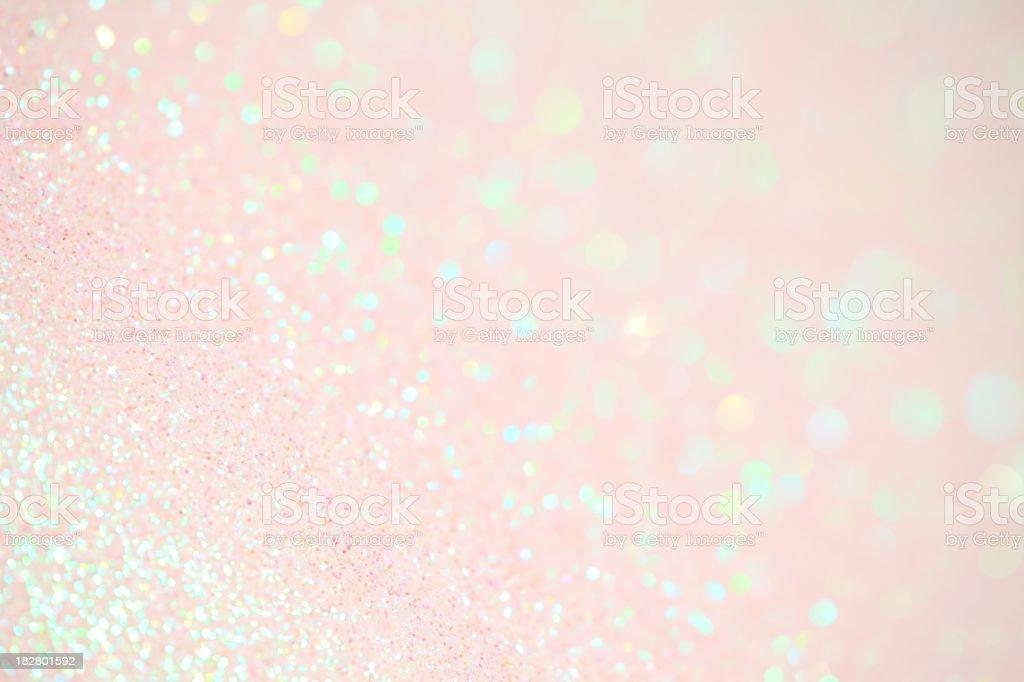 Light Pink Sparkles stock photo