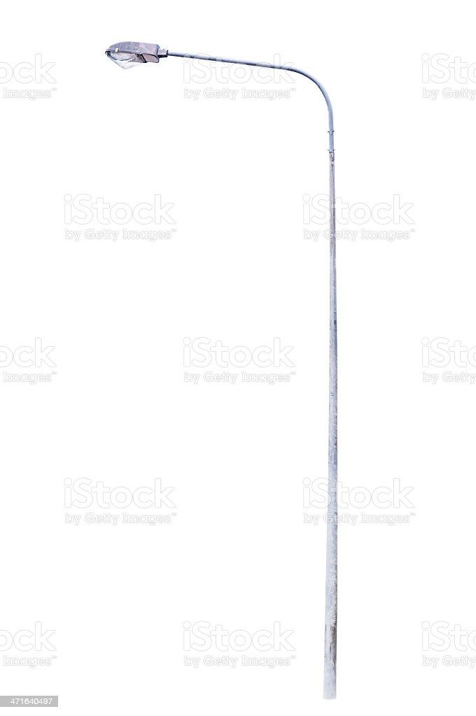 Light pole isolated stock photo