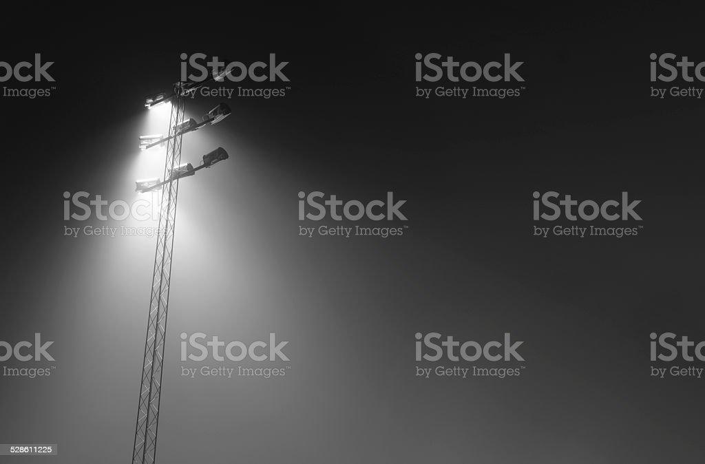 Light pole stock photo