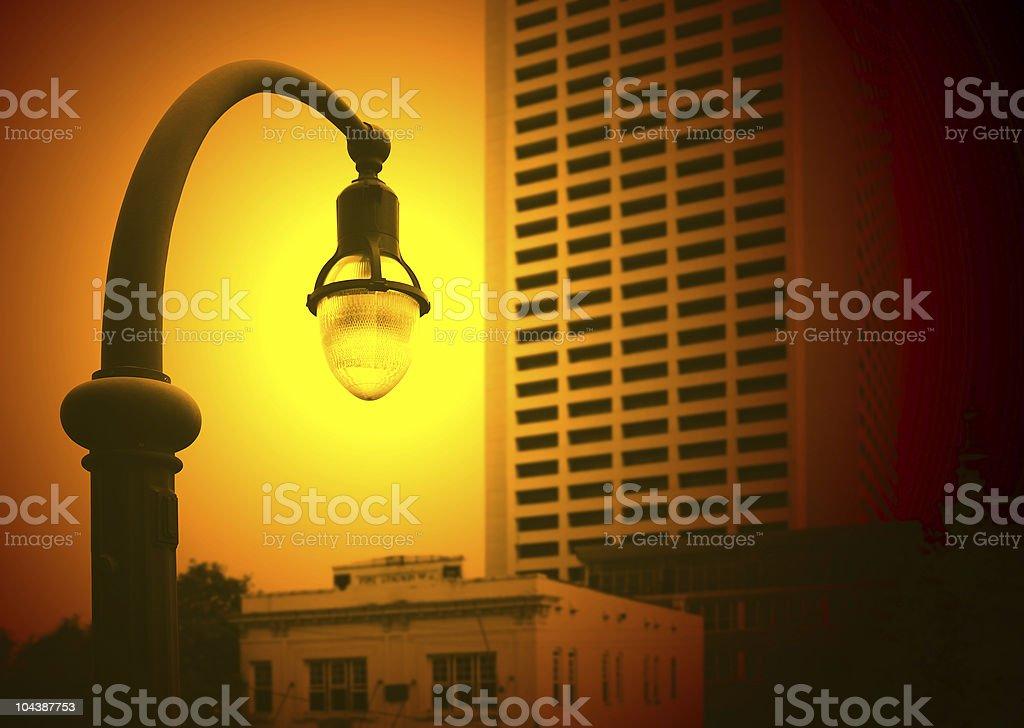 light post royalty-free stock photo