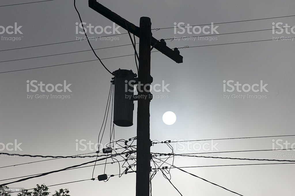 Light post royalty-free stock photo