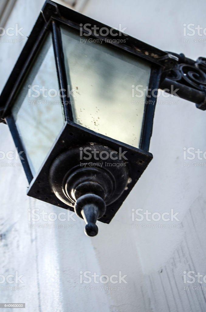 Light post stock photo