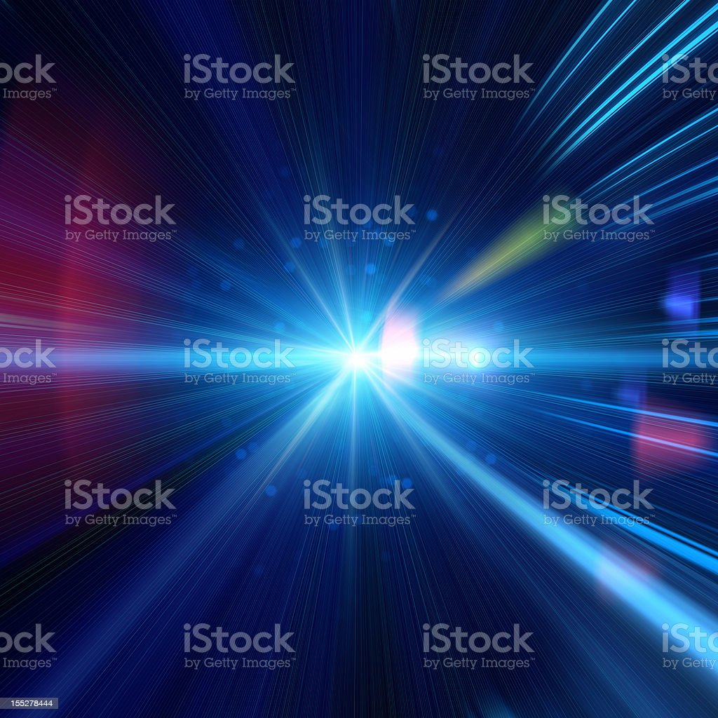 Light Ray stock photo