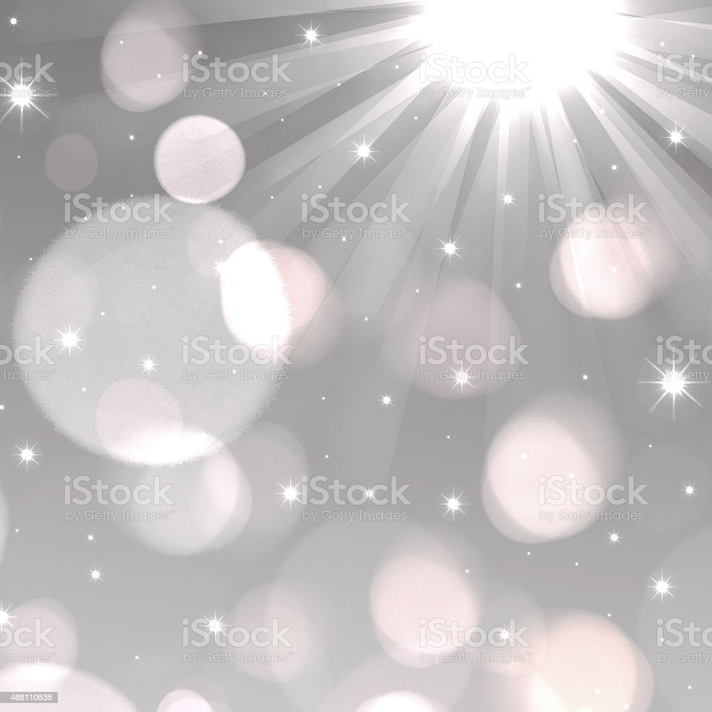 Light rays background with bokeh effect royalty-free stock photo