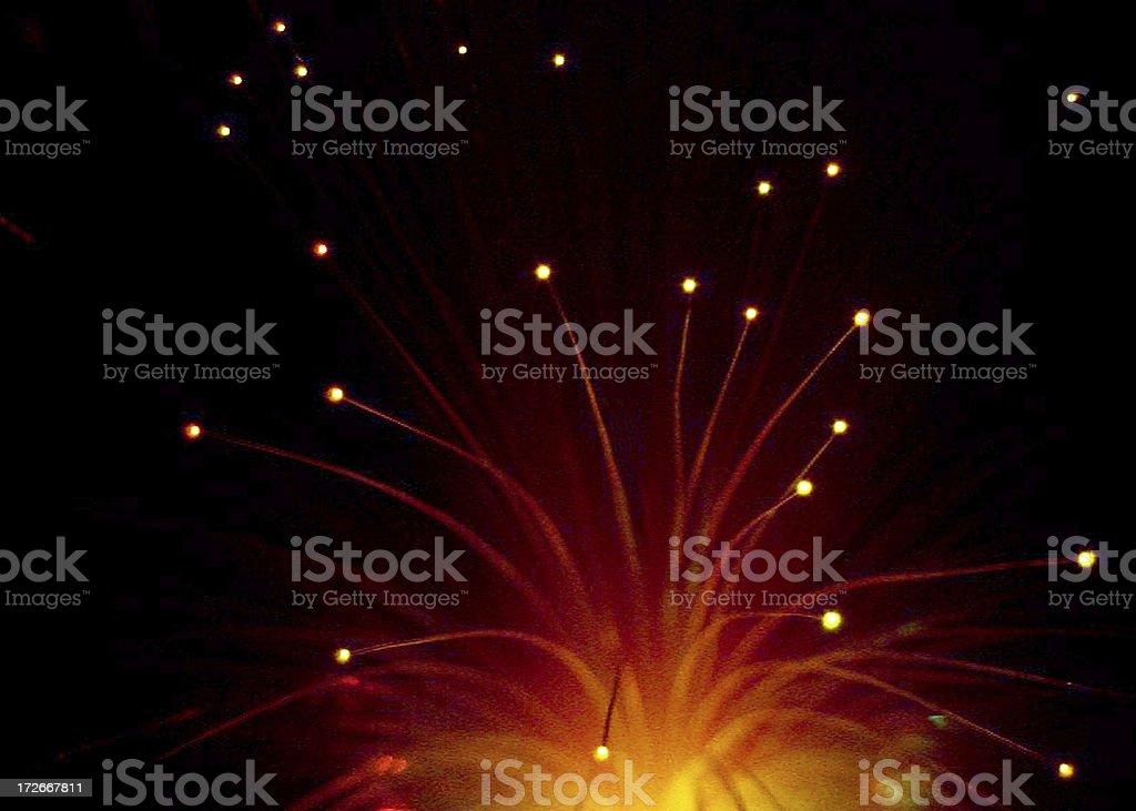 Light Rods royalty-free stock photo