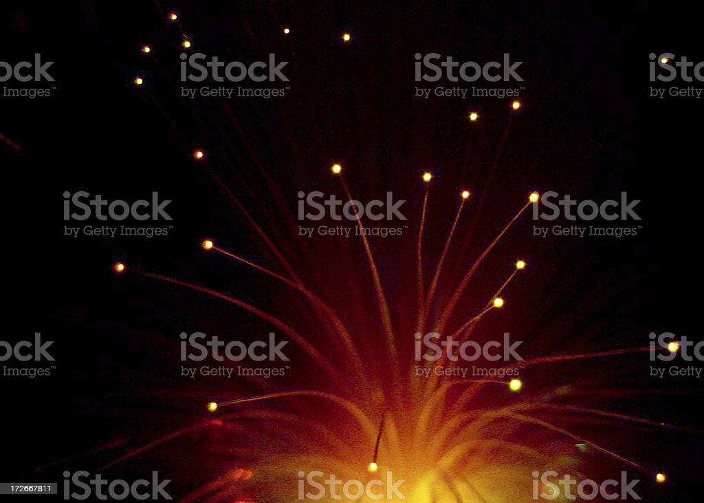 Light Rods stock photo