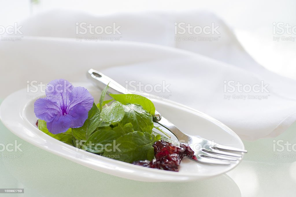 Light Salad stock photo