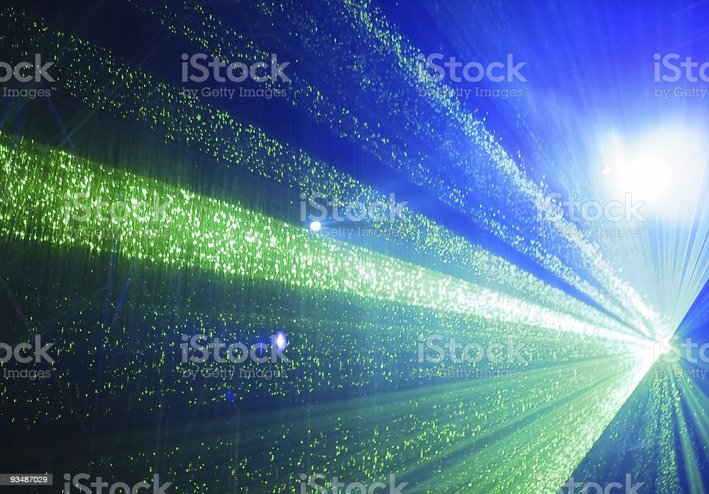 Light show royalty-free stock photo