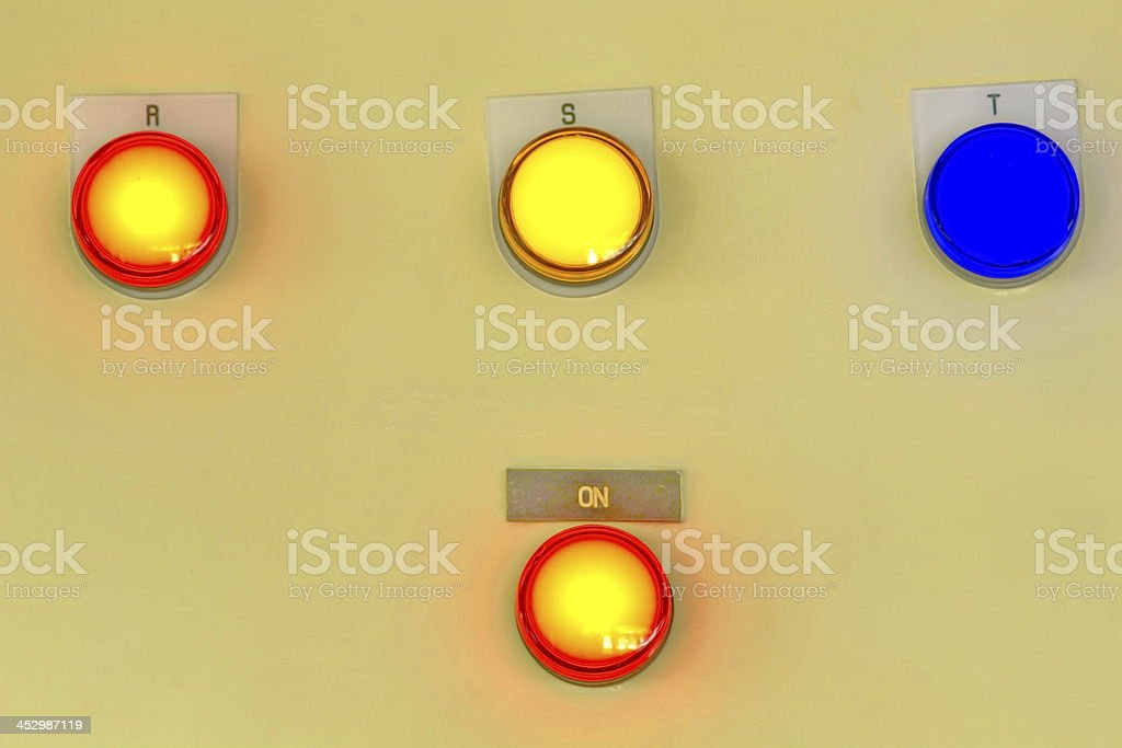 Light signal. royalty-free stock photo