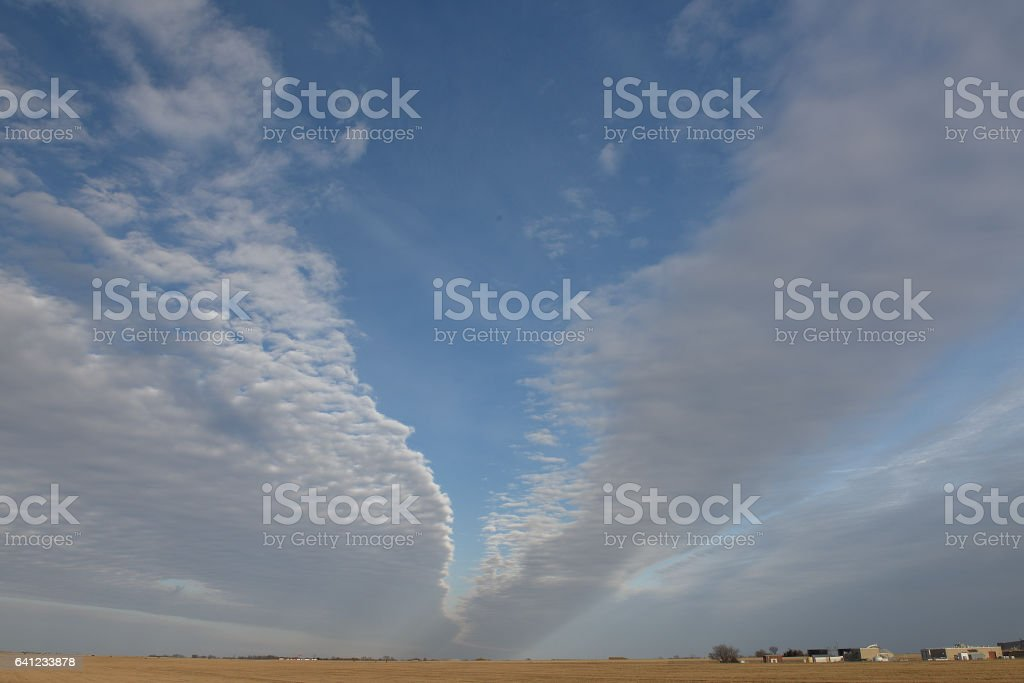 Light Sky clouds stock photo