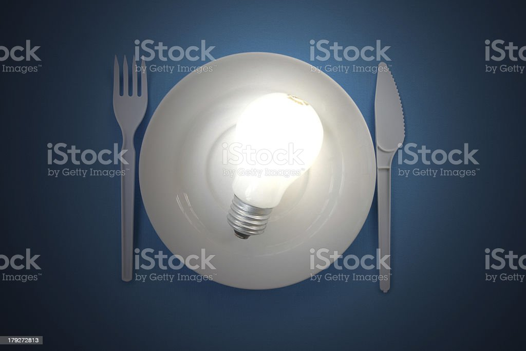 Light source. royalty-free stock photo