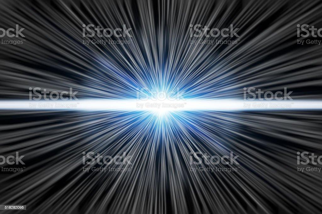 Light speed stock photo
