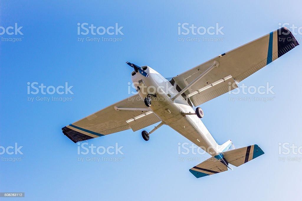 light sport aircraft stock photo