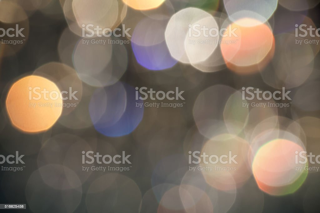 Light spots stock photo