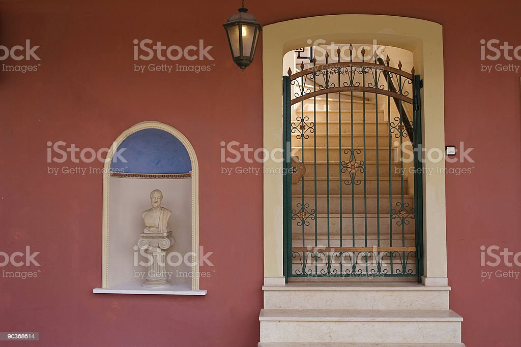 Light stairs royalty-free stock photo