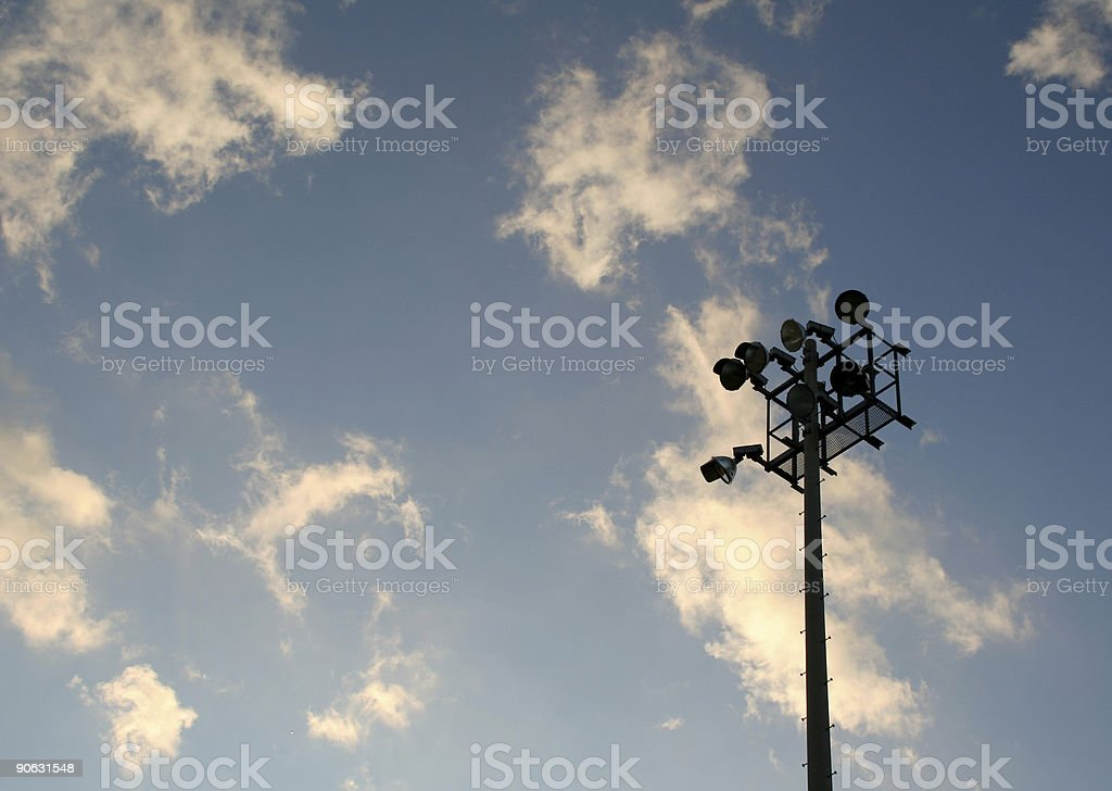 Light Stand royalty-free stock photo