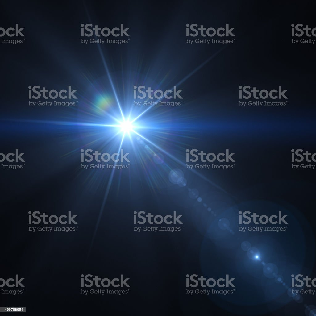 Light Star stock photo